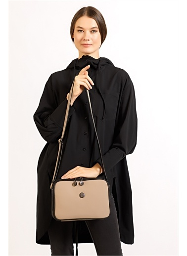 TH Bags Messenger / Askılı Çanta Bej